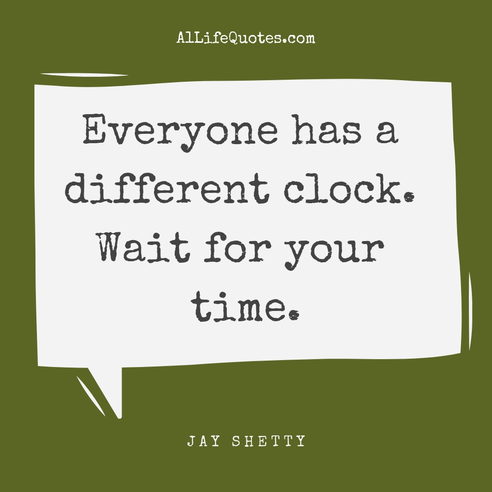 jay shetty quotes on time