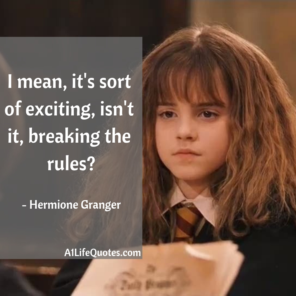 harry potter quotes hermione