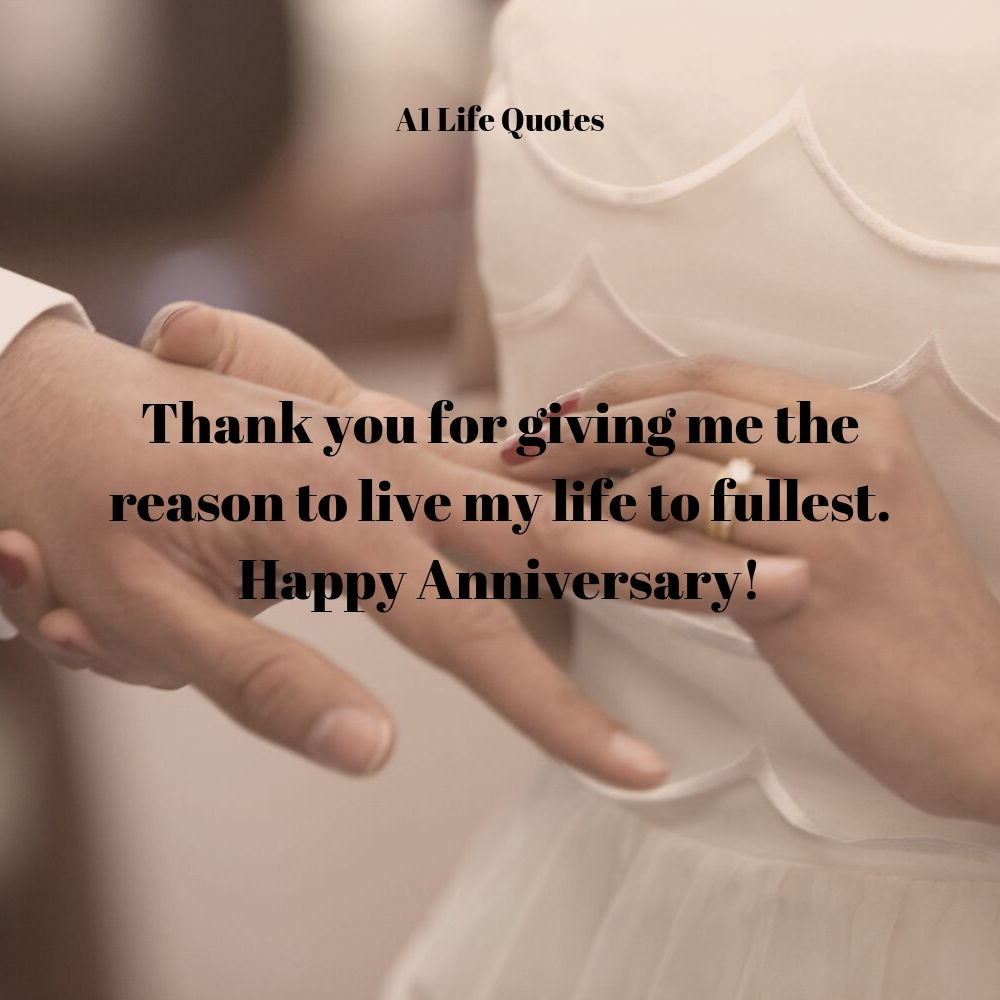 marriage anniversary status for husband