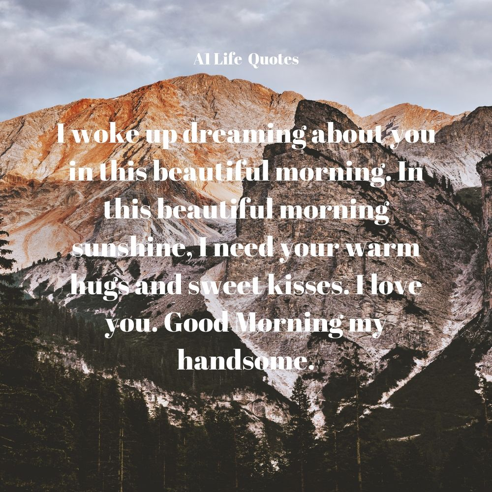 morning messages for love