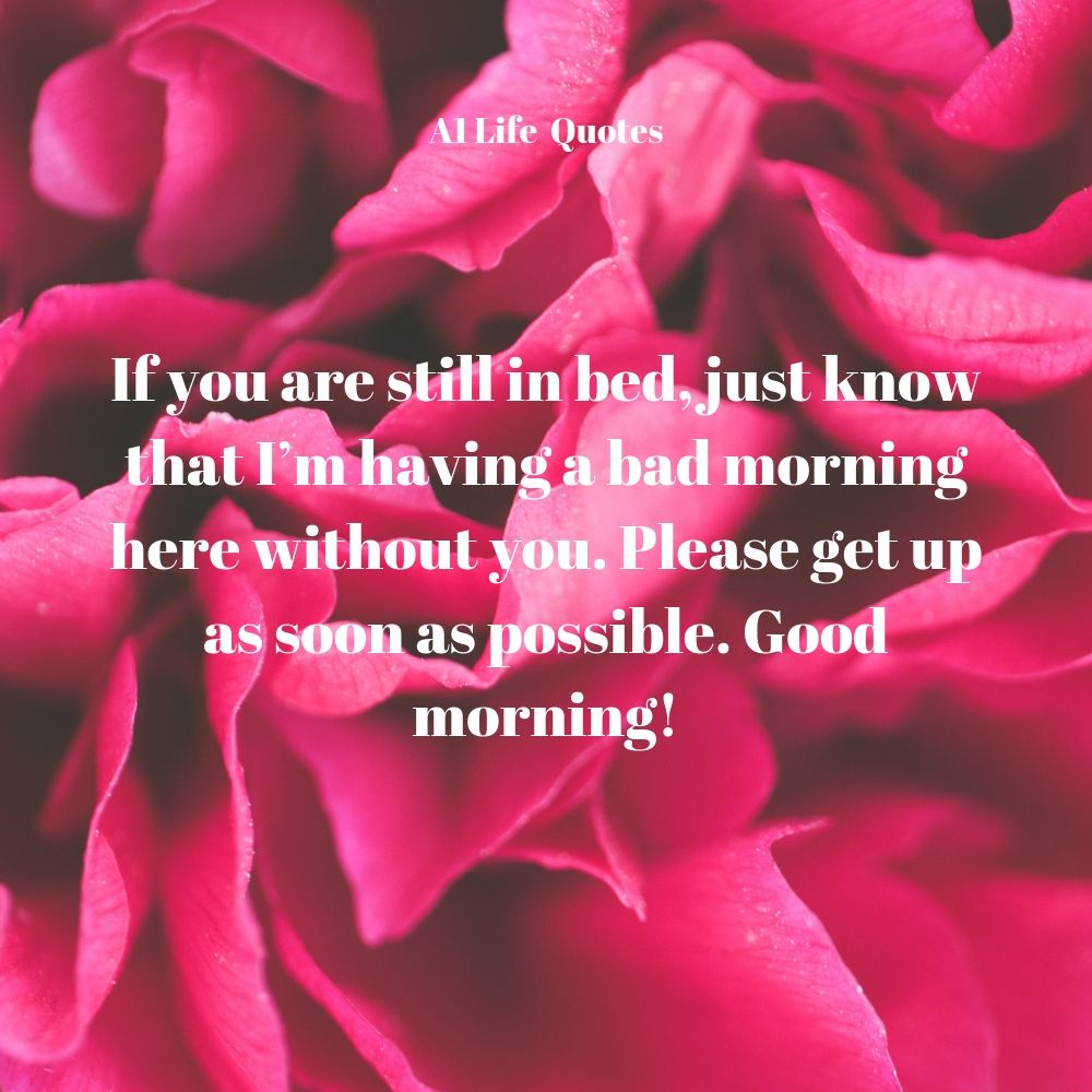 special good morning wishes