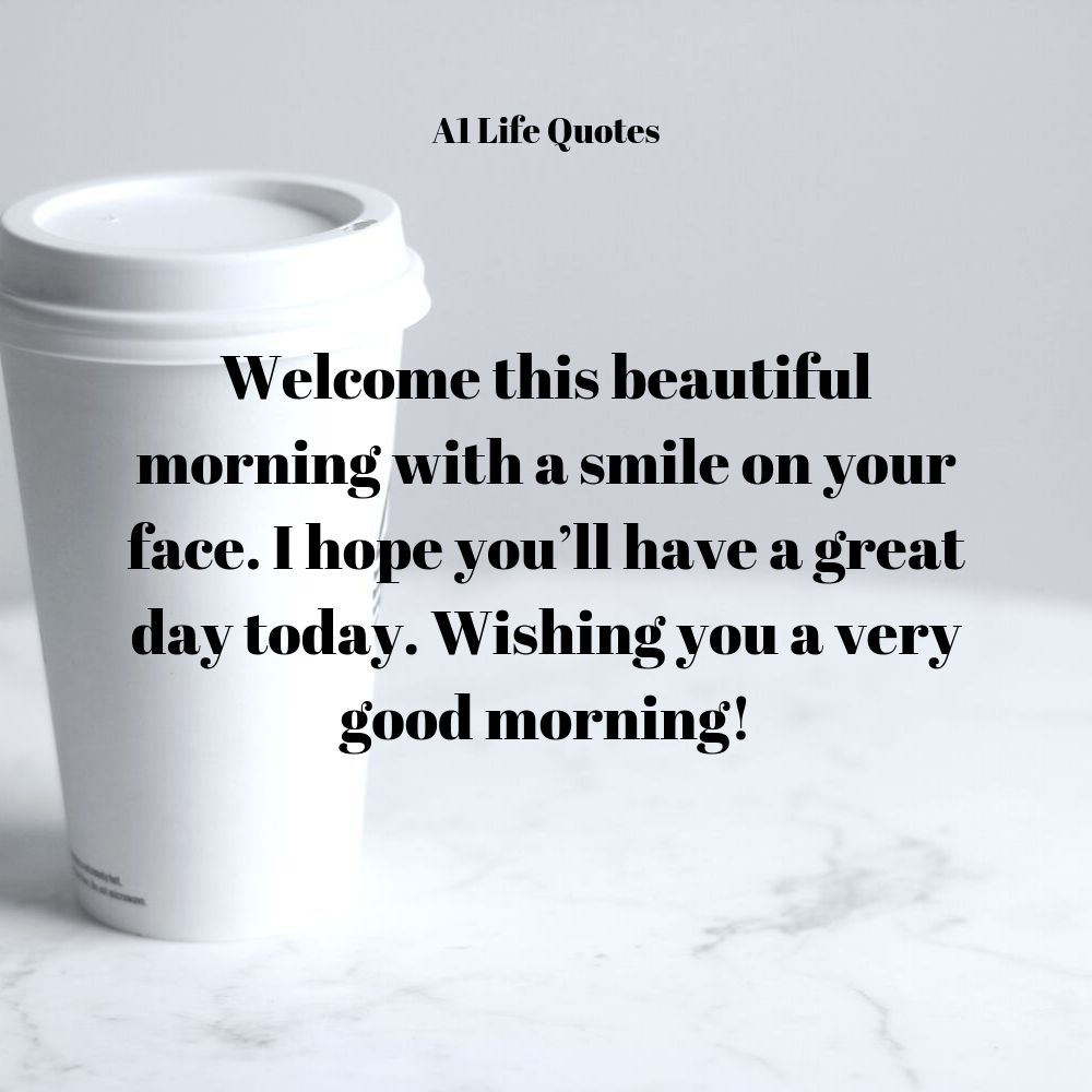 good morning message to a friend