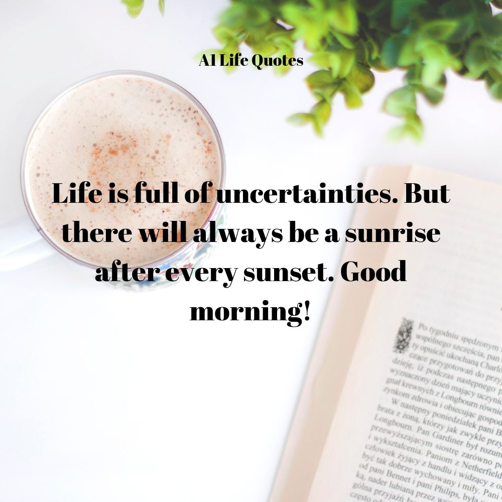 good morning quotes in eng