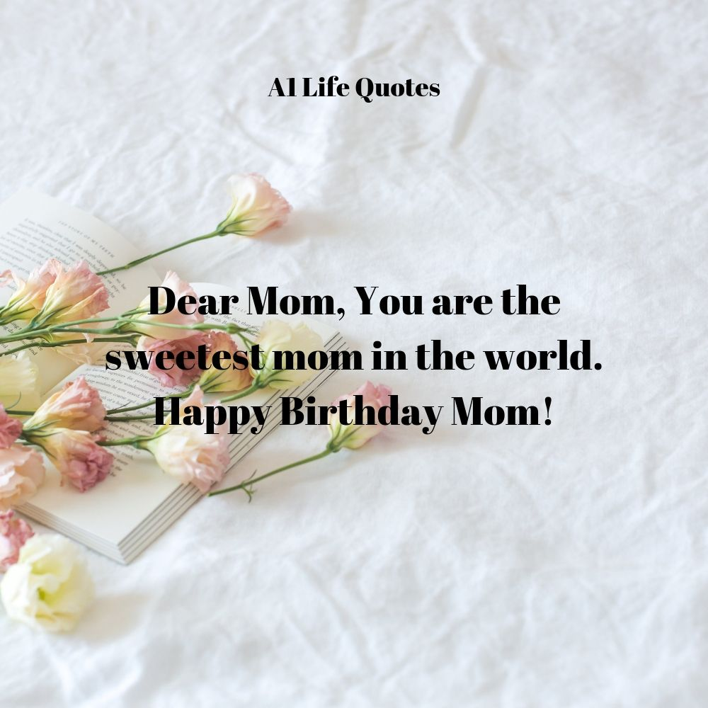 happy birthday mom message
