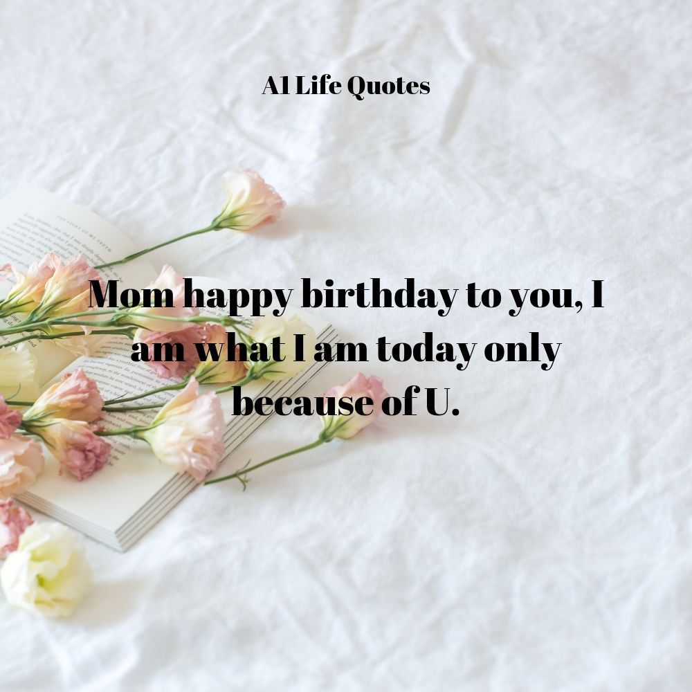 happy birthday mum quotes