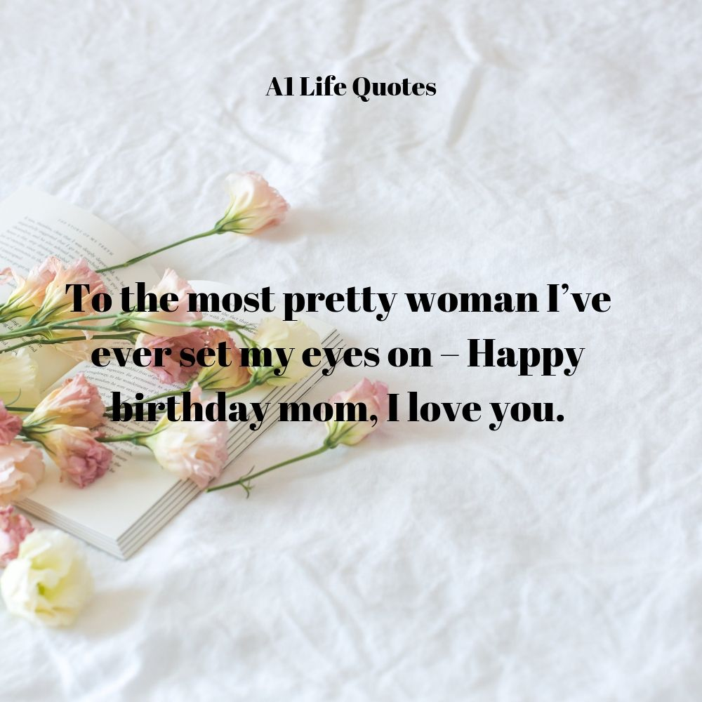happy birthday to my mom