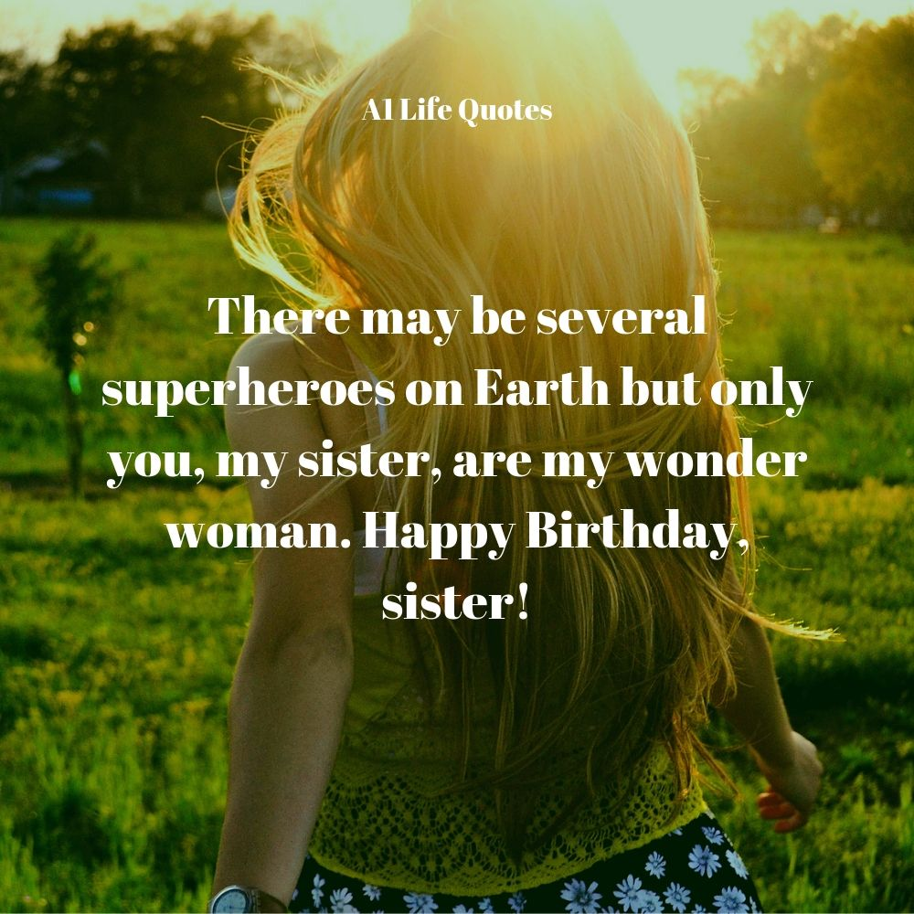 happy birthday wishes quotes for sister
