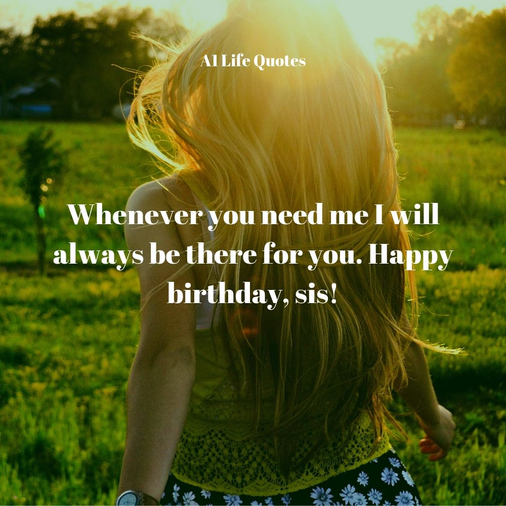 happy birthday big sister quotes