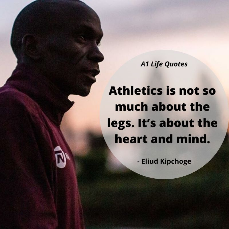 eliud kipchoge best quotes