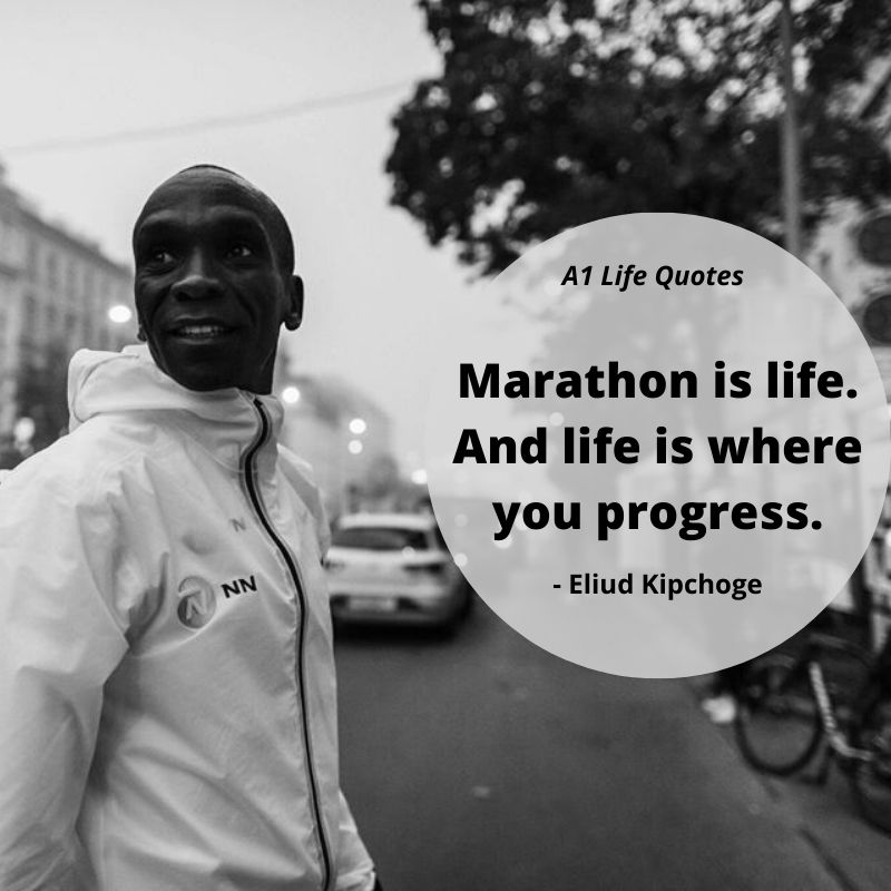 eliud kipchoge inspirational quotes