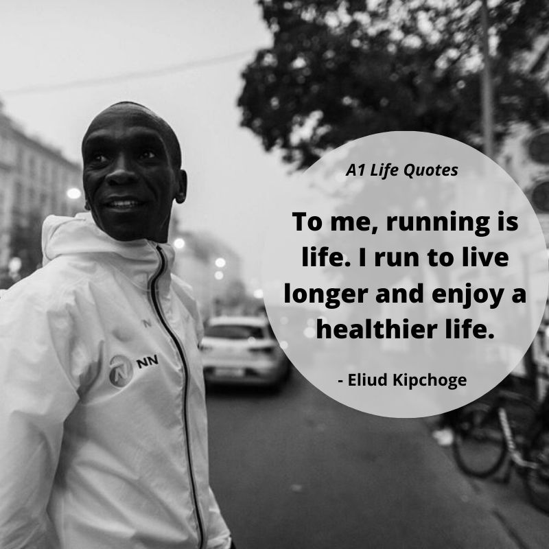 eliud kipchoge running quotes