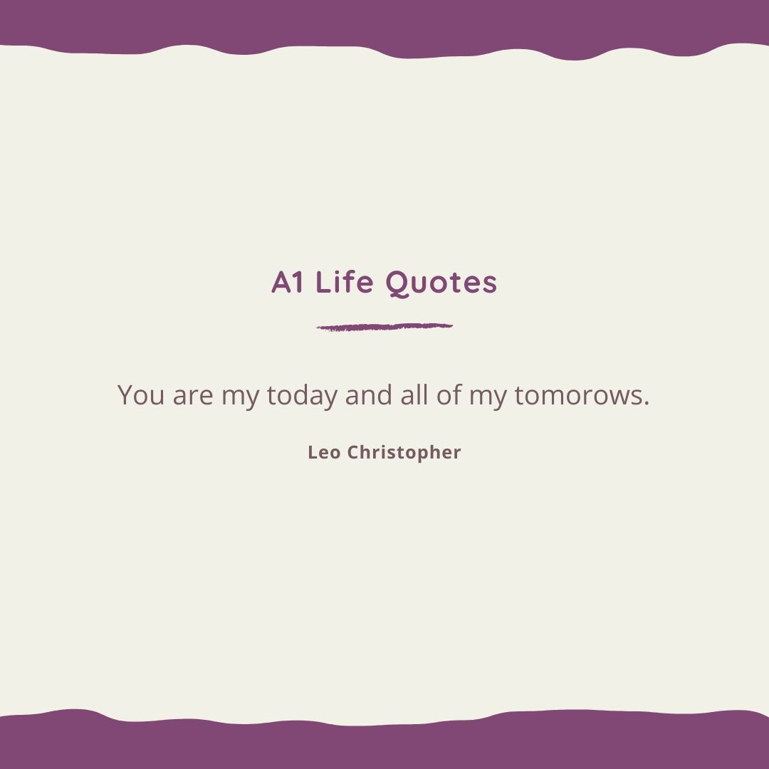 to the love of my life quotes