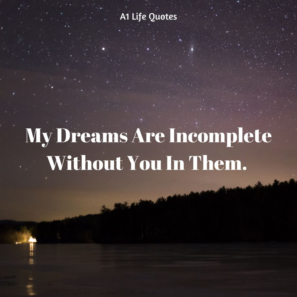 good night quotes for her from the heart