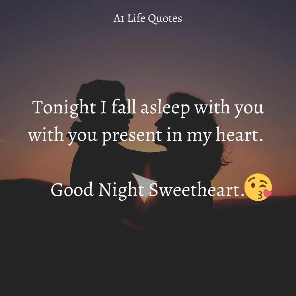 sweet goodnight quotes for her