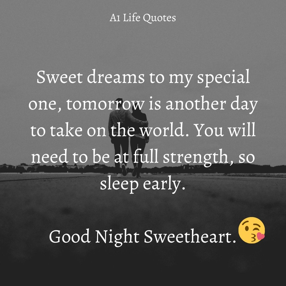 beautiful good night quotes for her