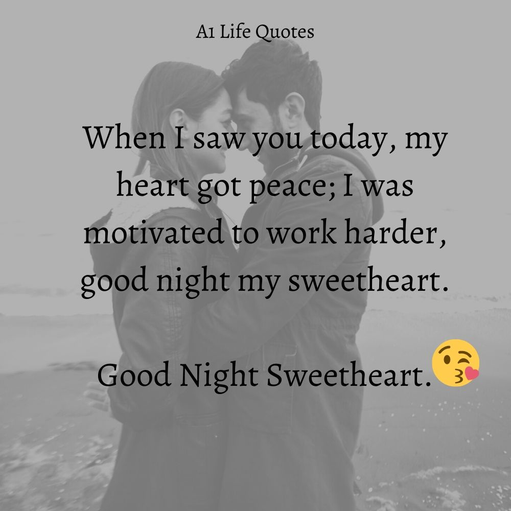good night quotes to girlfriend