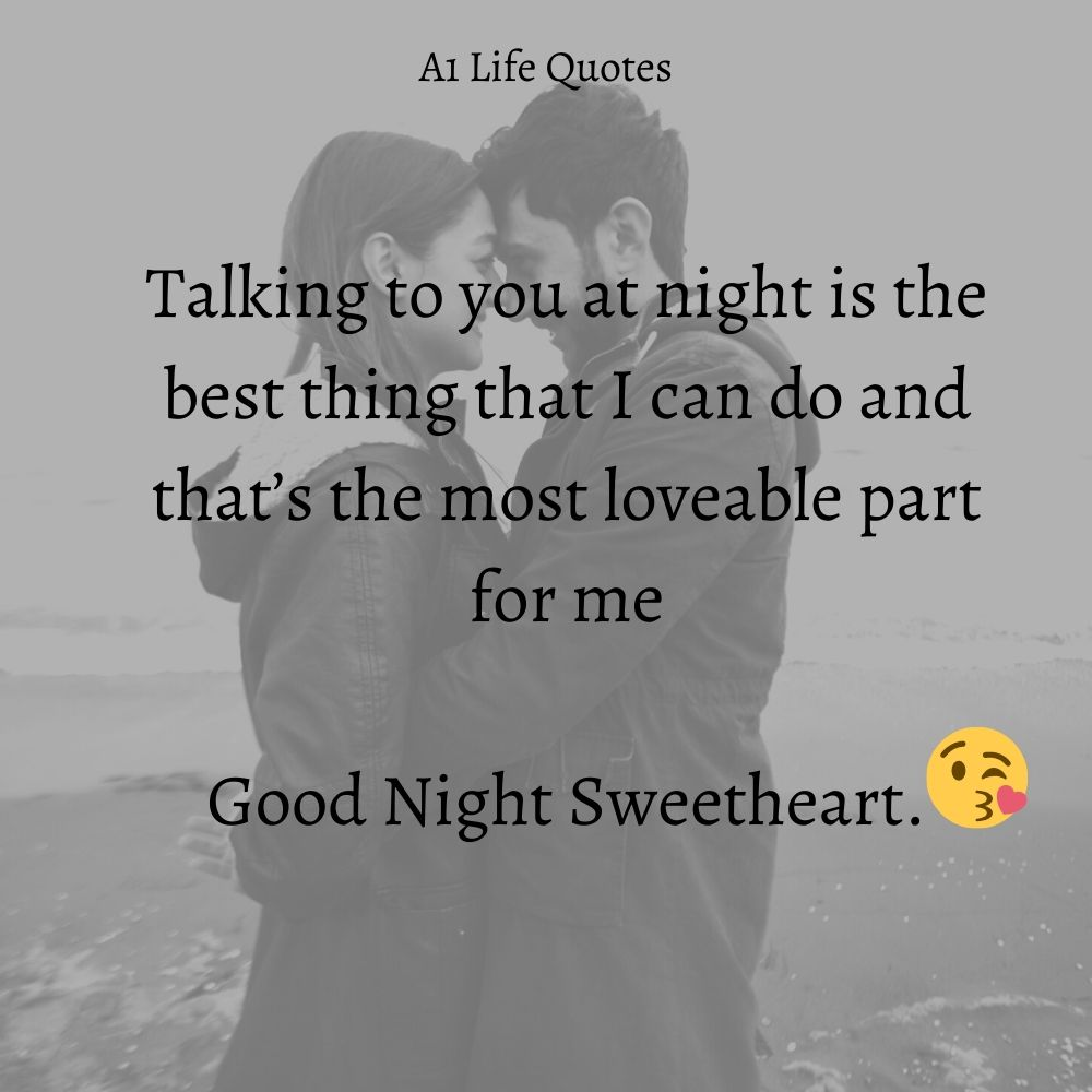good night quotes for my girlfriend