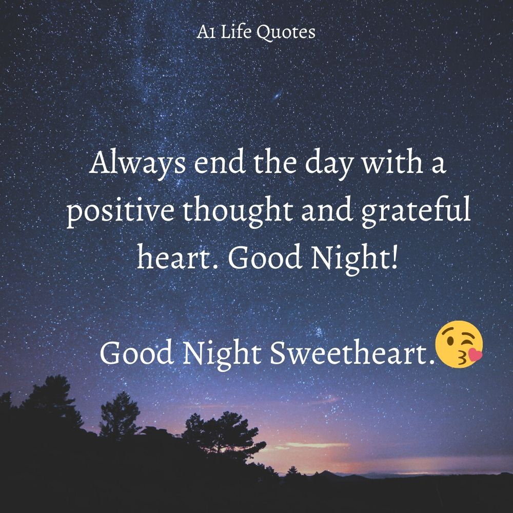 goodnight sweetheart quotes for her