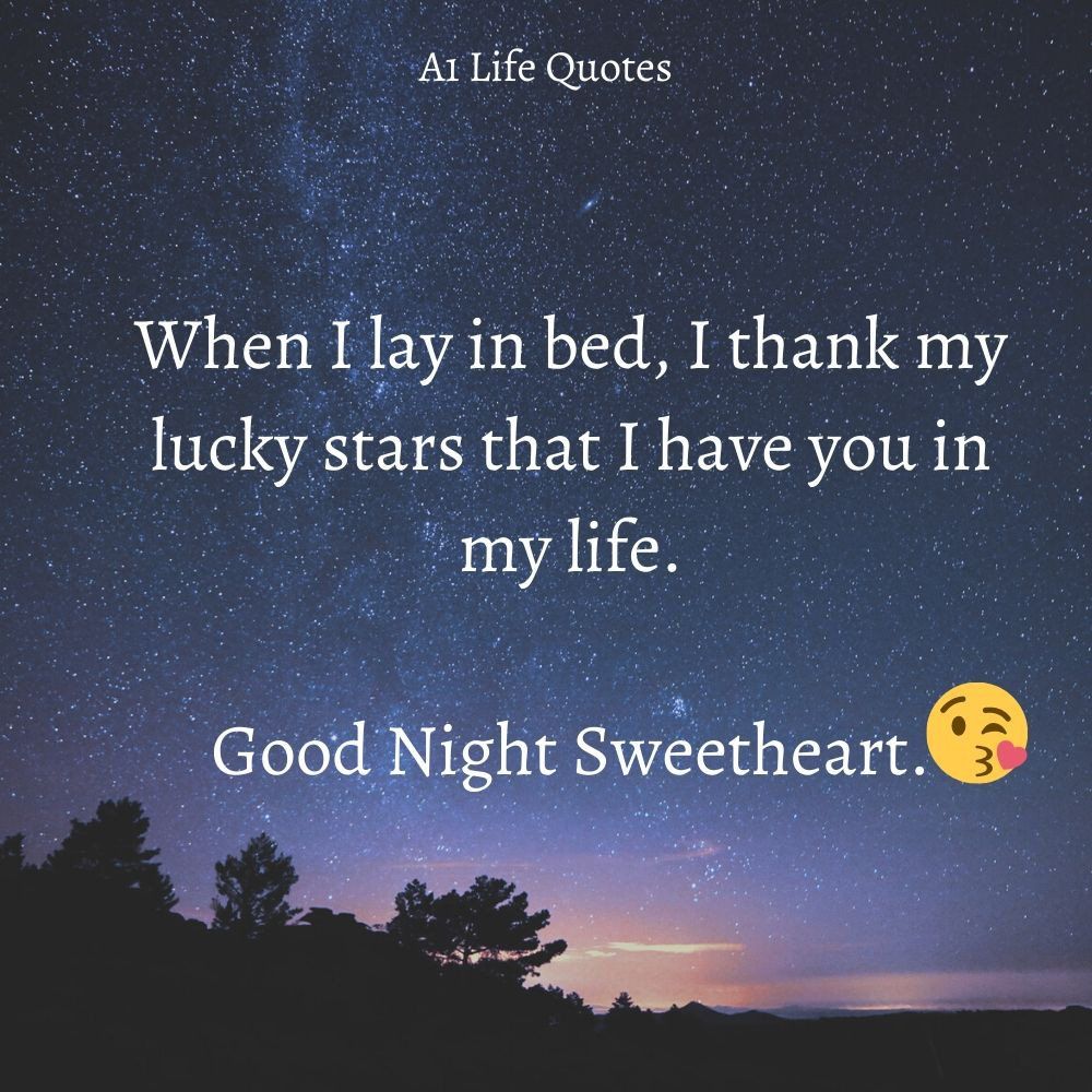 goodnight quotes for your girlfriend