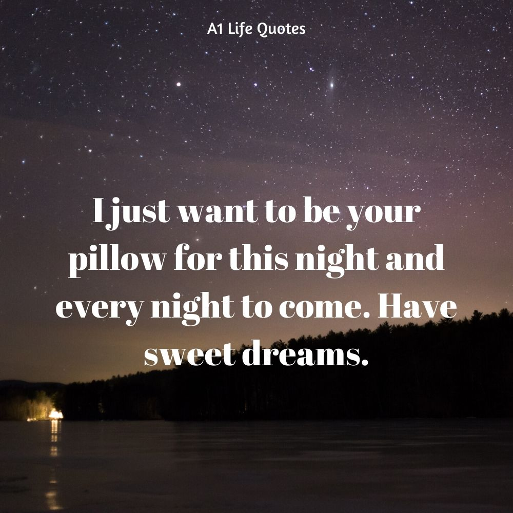 night wishes for her
