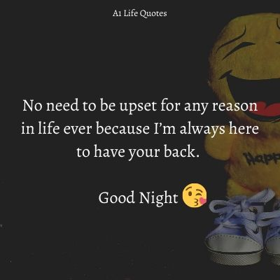 good night message to my friend