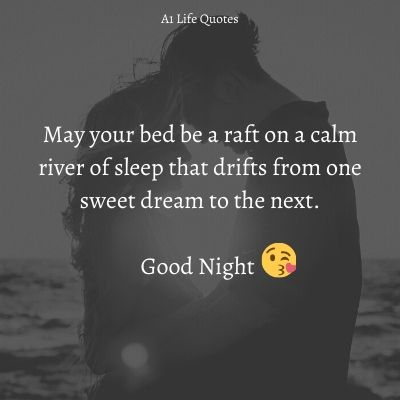 good night message for best friend