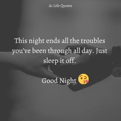 good night msg for best friend
