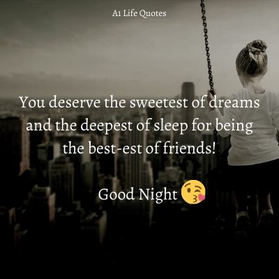 heart touching good night messages for friends