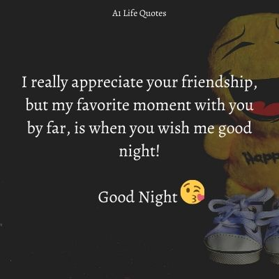 good night sms for friends