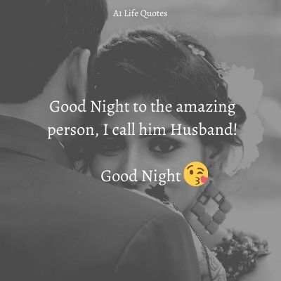 good night wishes to husband