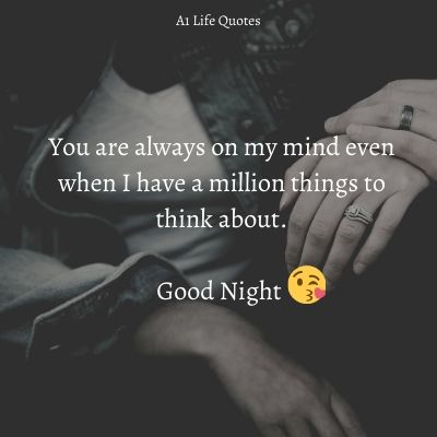 good night msg for hubby