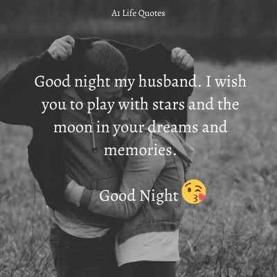 good night my husband images