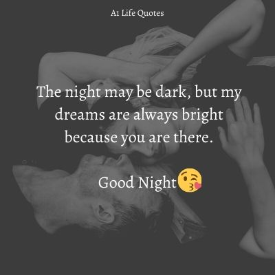romantic good night quotes for husband