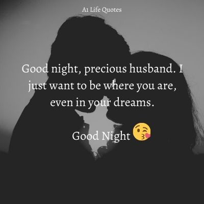 goodnight message for husband