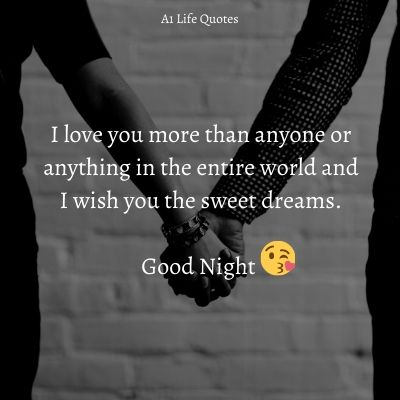 good night message for husband far away