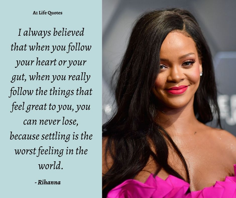 Rihanna Quotes About Success