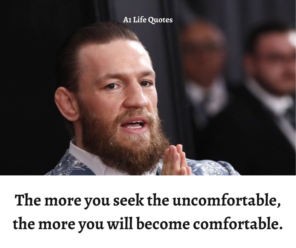 Conor McGregor Talent Quotes