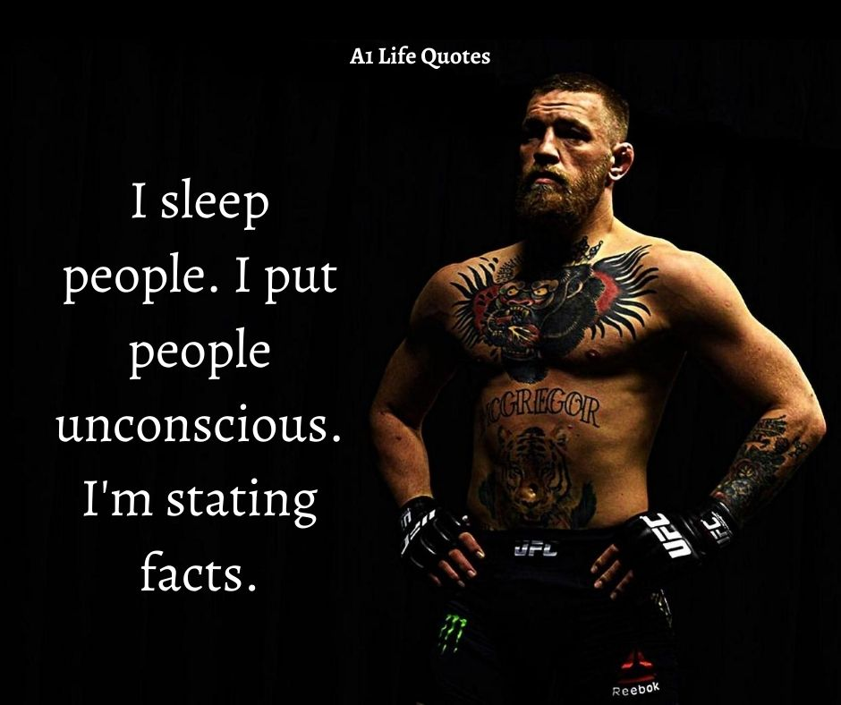 Conor McGregor Wife Quotes