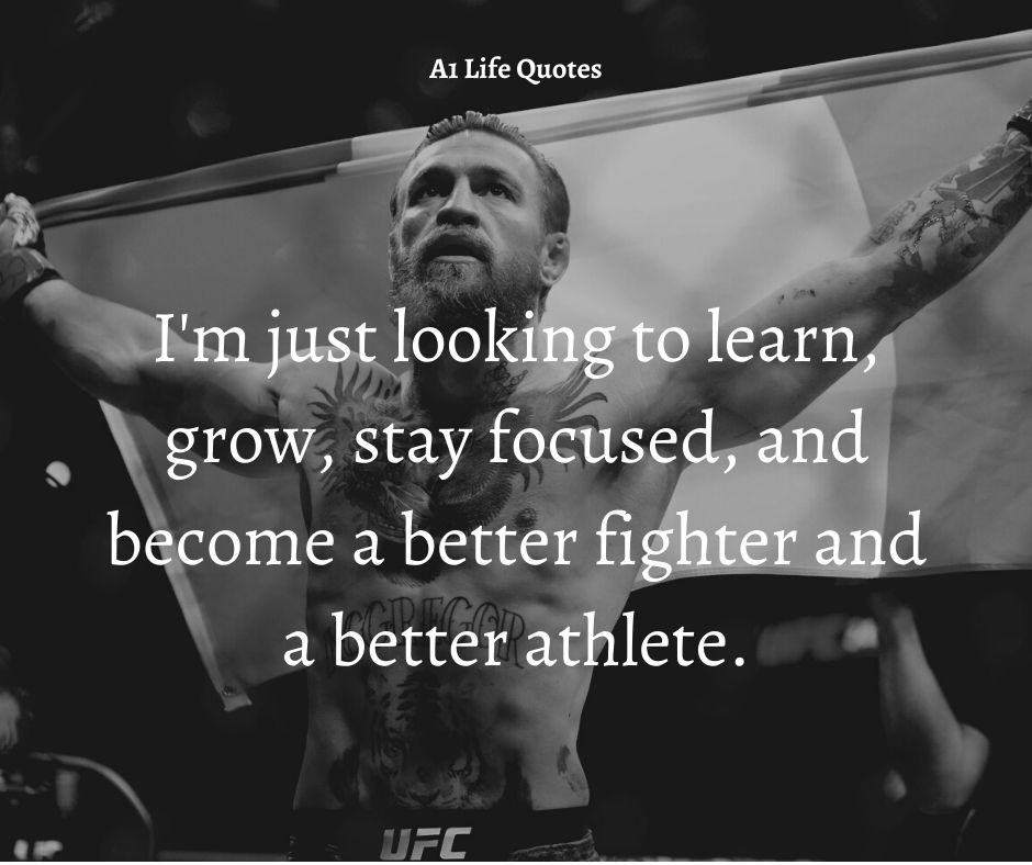Conor McGregor Obsession Quotes