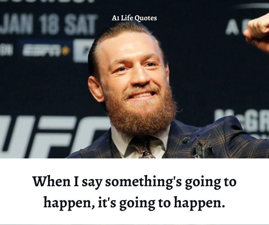 best conor mcgregor quotes