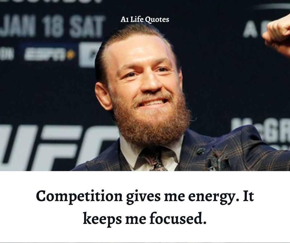 conor mcgregor sayings