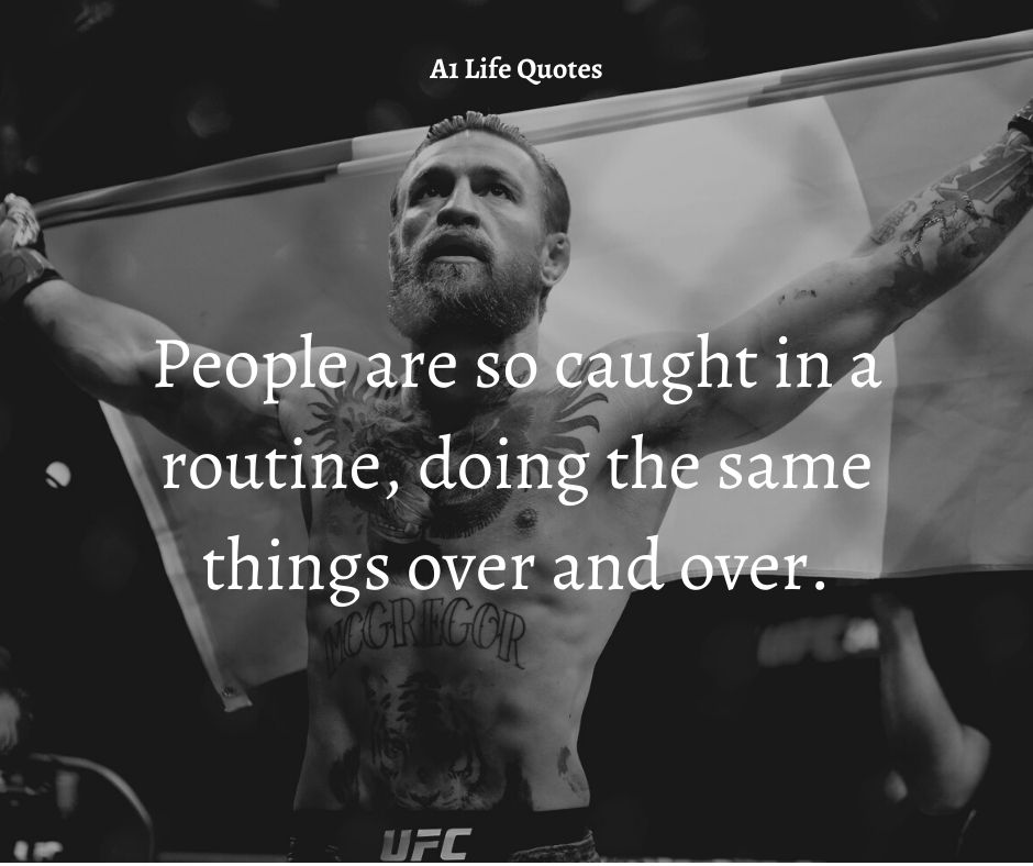 conor mcgregor talent quote