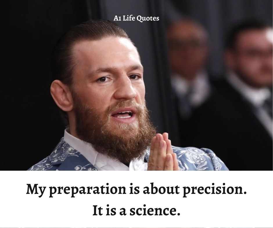 conor mcgregor obsession quote
