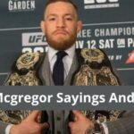 Conor McGregor Quotes and Sayings