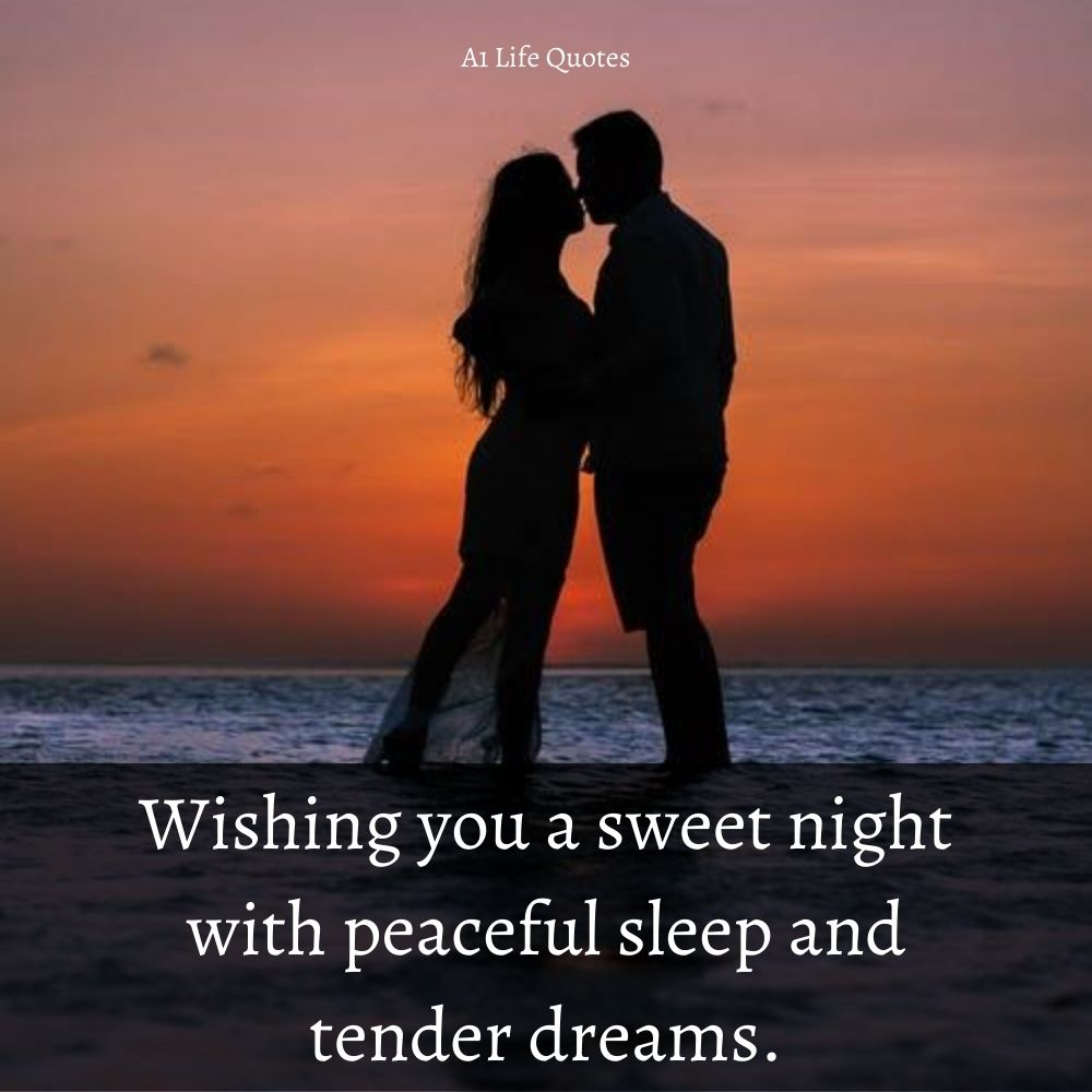 Sweet Good Night Message for Girlfriend