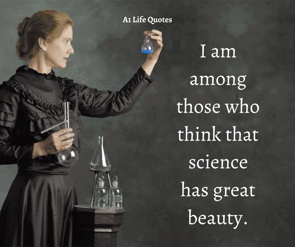 Marie Curie Quotes About Science