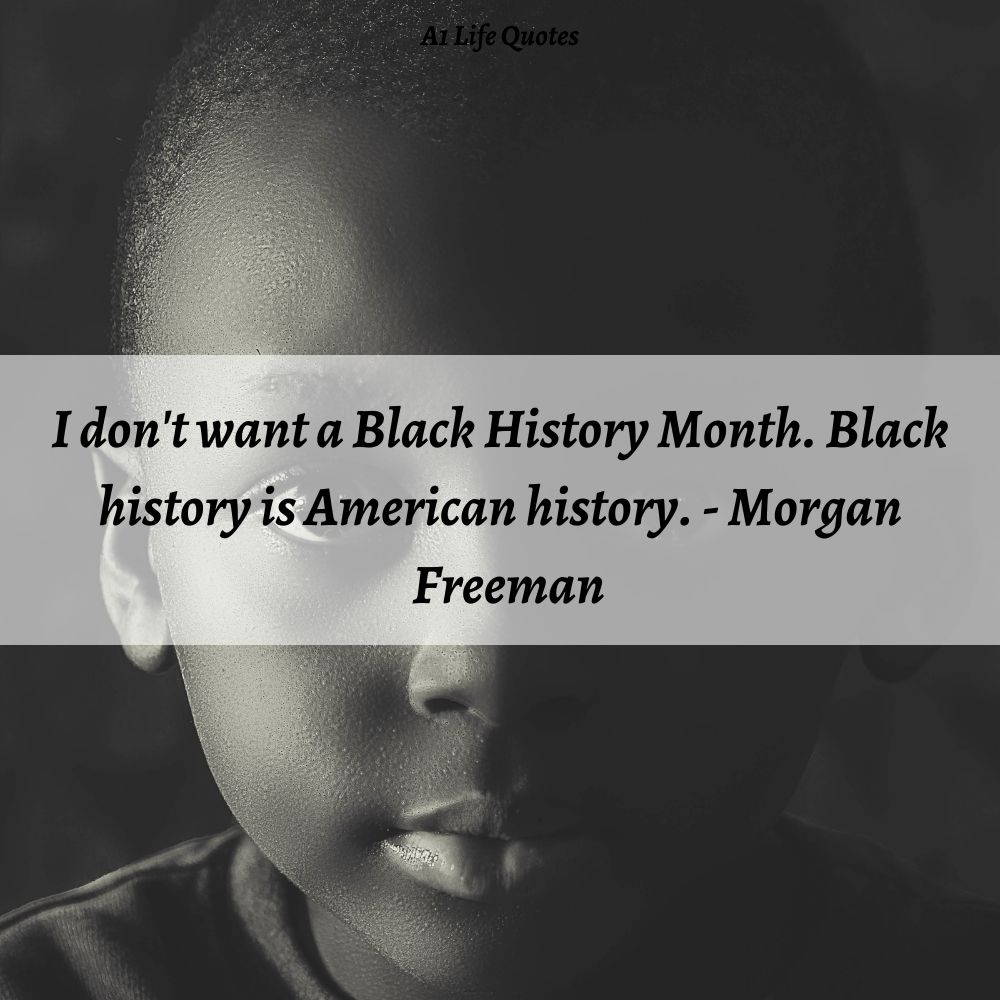 black history is american history quotes