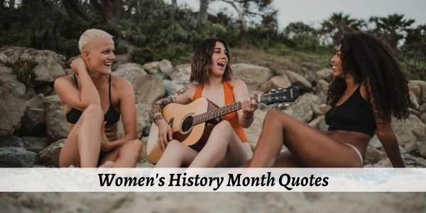 womens history month quotes