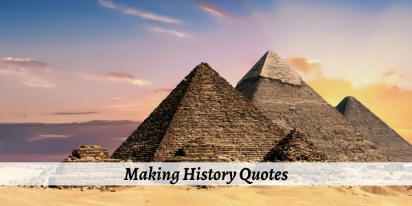 making history quotes