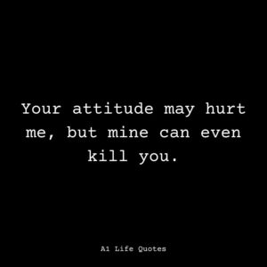 funny bad attitude quotes